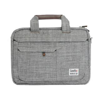P-151030B-14 Vogue Brief Notebook Bag (GRAY)
