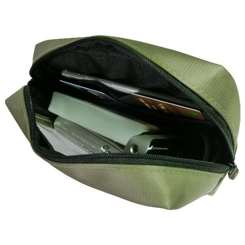 TP-80 Transparent Pouch for Electronics Accessories , Travel Gear Organizer Case
