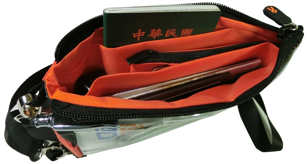 NHP-300 Travel anti-theft bag for passport/mobile phone