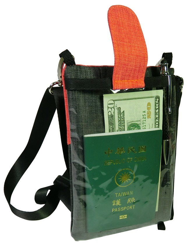 Travel anti-theft bag for passport/mobile phone