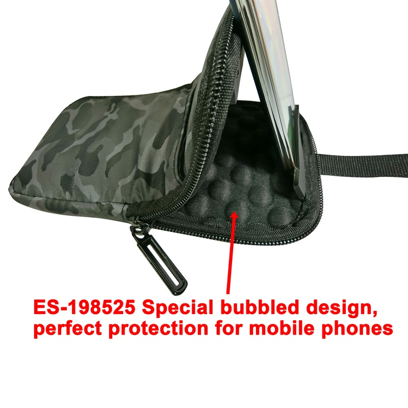 "ES-198525 Universal 6.8"" mobile phone bubbled case"